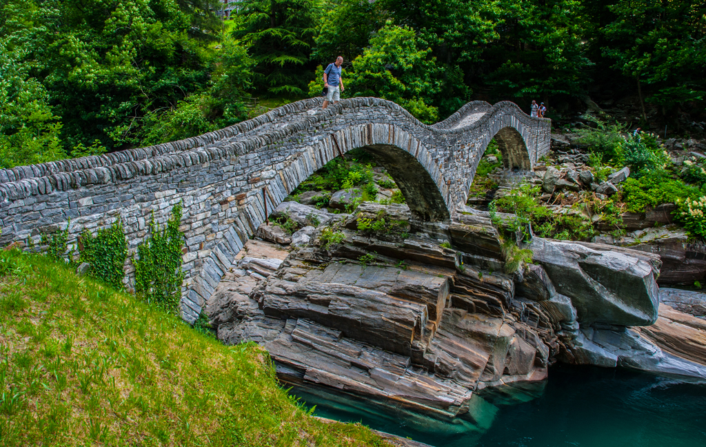 Römerbrücke im Tessin